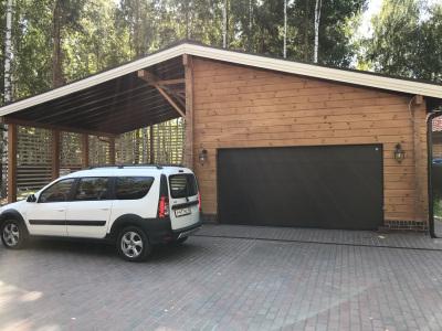 garazh-iz-kleenogo-brusa-pod-klyuch
